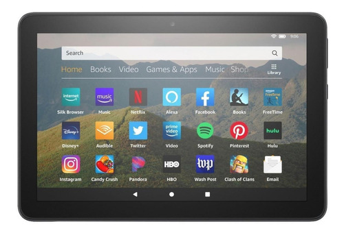 Tablet  Amazon Fire Hd 8 2020 Kfonwi 8  64gb Black Con 2gb De Memoria Ram