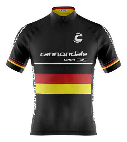 Camisa Ciclismo Mtb Cannondale Alemanha (p-m-g-gg-3g-4g)