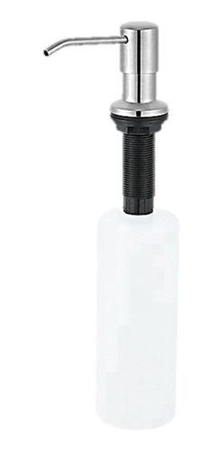 Dispensador De Jabon Liquido De Acero Inox 300ml Saga
