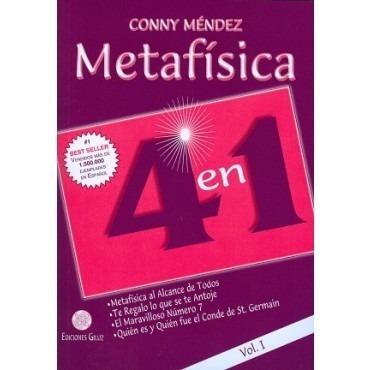 Paq. De 2 Metafísica 4 En 1 Vol. 1  Y  Vol. 2  -conny Méndez