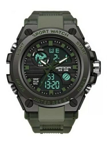 Relógio Masculino Sanda 739 Militar Tatico Sportes Original