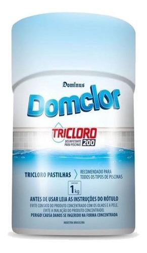 Cloro Pastilha Piscina 200 Gr 25 Unidades - Domclor