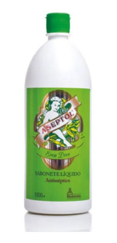 Sabonete Líquido Antibacteriano Erva Doce Aseptol - 1 Litro