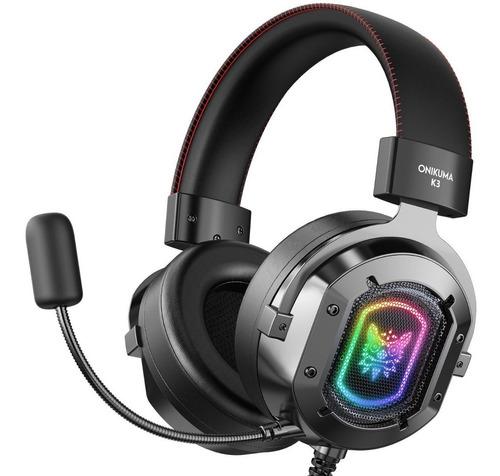 Onikuma K3 Gamer Headphones Led Light For Ps4 Pc