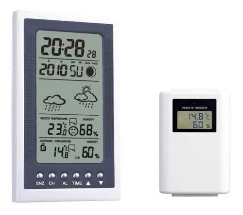 Termómetro Luft Ws 550 Con Sensor Externo Reloj Y Alarma