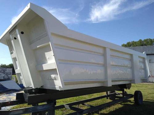 Volcadora 18m3 Balde Usado. Camion Volcador Vuelco Trasero