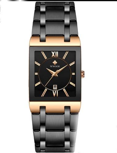 Relógio Masculino Original Wwoor 8858 Ultrafino Luxuoso