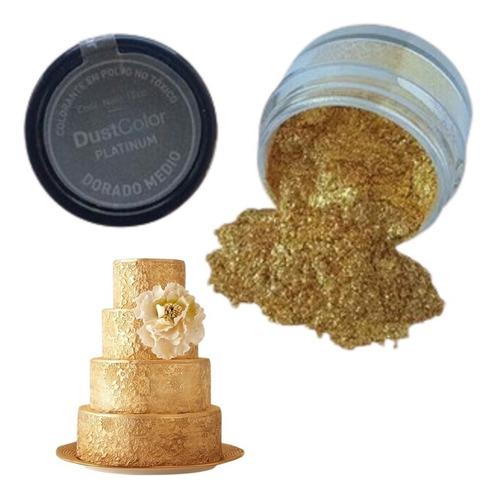 Colorante En Polvo Linea Platinum Dorado Medio Repostería