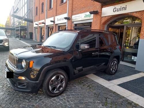 Jeep Renegade Sport Plus Mt, 2017, Negra, 56000kms