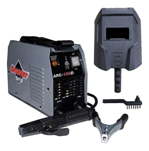 Máquina De Solda Portatil Arc-100d Smarter 110v 70 Amp