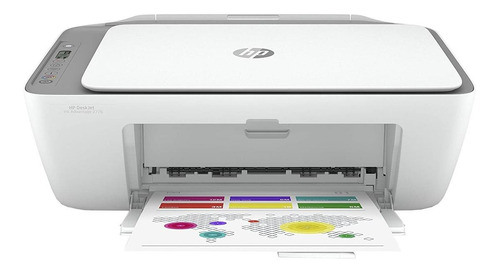 Impressora A Cor Hp Deskjet Ink Advantage 2776 Com Wifi Branca E Cinza 100v/240v 7fr20a