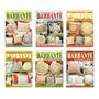 Kit 6 Revistas Trabalhos Em Barbante Almofadas Sério Ouro