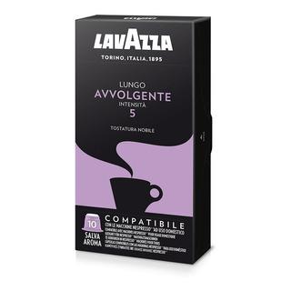 Café Lavazza Cápsulas Lungo Avvolgente - Intensidad 5