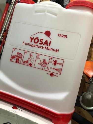 Asperjadora Fumigadora Manual 20 Litros Yosai