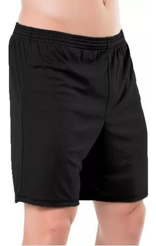 Shorts Masculino Plus Size Academia Caminhada Futebol Lazer