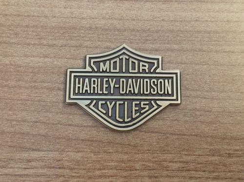 Harley Davidson Emblema Logo Com Fita Dupla Face 3m