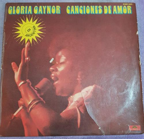 Gloria Gaynor - Canciones De Amor (b+) (kikefpvinilos)