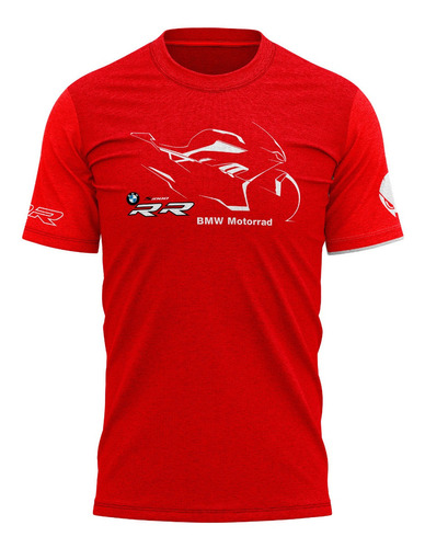 Camiseta Bmw S1000rr Superbike Sbk Moto Gp