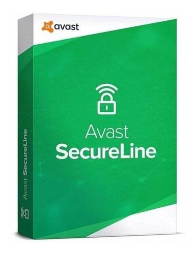 Avast Secureline Vpn - 1 Dispositivo 1 Año