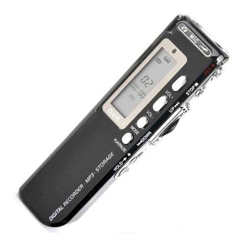 Gravador De Voz Digital Espião Grava 24 Dias Direto 8gb Mp3