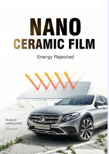 Papel Polarizado Nanoceramico :mejor Que El Nanocarbono