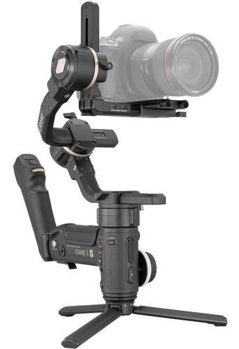 Estabilizador De Mão Gimbal Crane 3s Zhiyun-tech Para Câmera