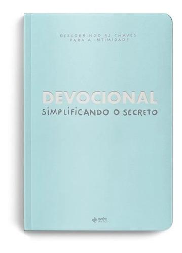 Livro Devocional Simplificando O Secreto