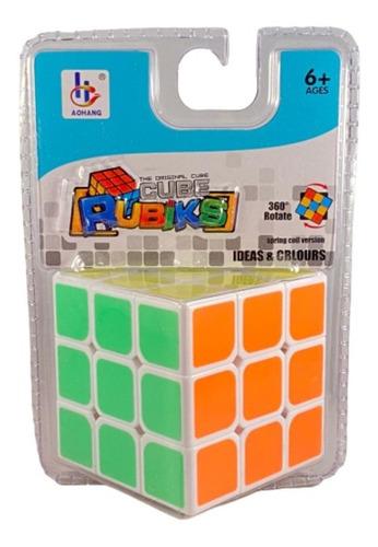 Cubo Tipo Rubik Fluo 6.3cm