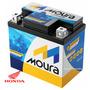 Moura Bateria De Moto 5ah Biz Titan Fan 125/150/160cc