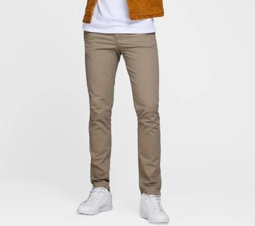 Calça Jeans Brim Sarja Masculina Slim C/ Lycra Coloridas