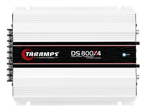 Amplificador Taramps Ds 800x4 2 Ohms