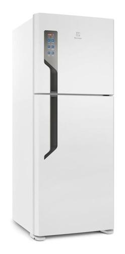 Geladeira Frost Free Electrolux Tf55 Branca Com Freezer 431l 127v