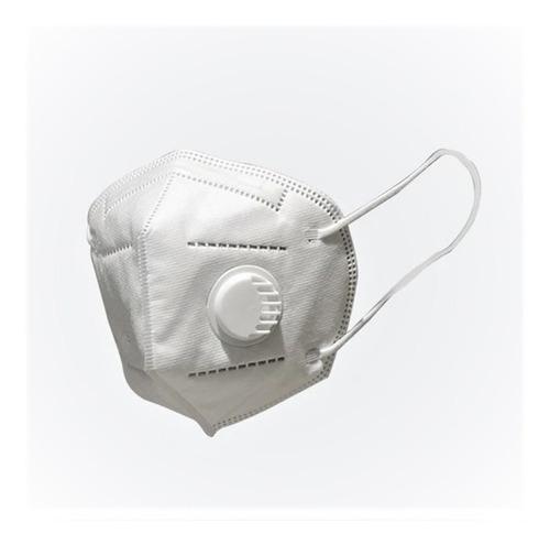 Tapaboca Mascara N95 Con Valvula - Caja De 5 Unidades