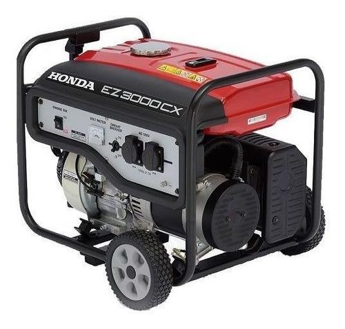Gerador Portátil Honda Ez3000cx 2.5 Kw Monofásico Com Tecnologia Avr 220v