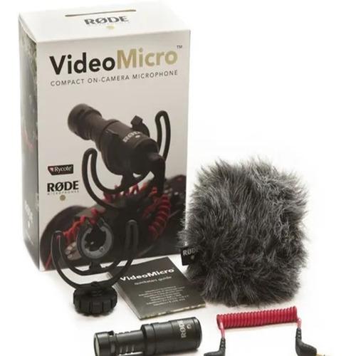 Microfone Rode Micro Videomicro Celular Smarphone Usado