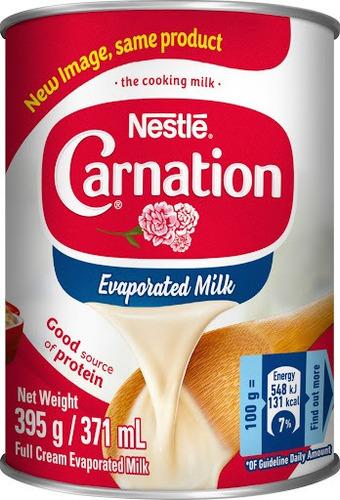 Leche Evaporada Nestle 395gr - g a $33