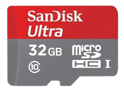 Tarjeta De Memoria Sandisk Sdsqunc-032g-an6ma Ultra 32gb