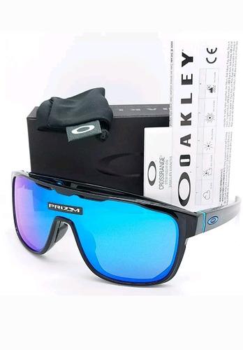 Nuevo Lentes De Sol Oakley Crossrange Shield 100% Original