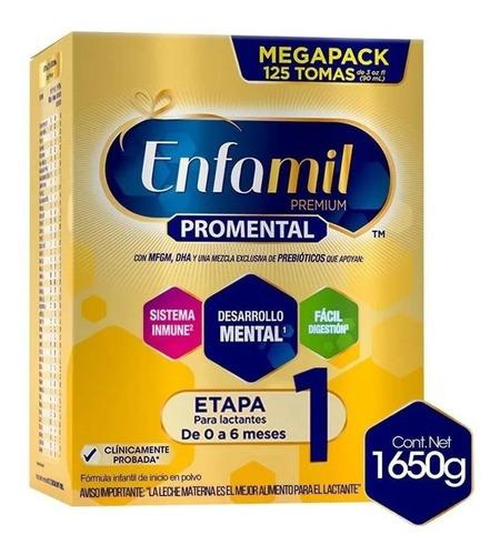 Fórmula Infantil En Polvo Mead Johnson Enfamil Premium 1 En Caja 1.65kg