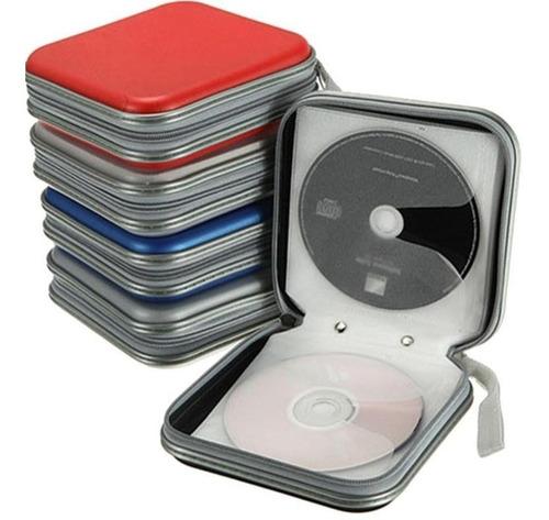 Porta Cds E Dvds Estojo 40 Midias Case Super Resistente