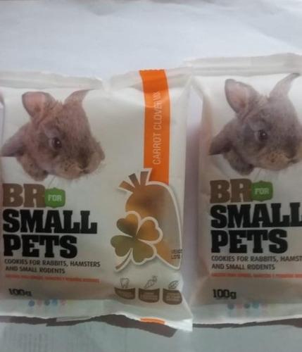 Galletas-snacks Hamster-conejos 100 Gr