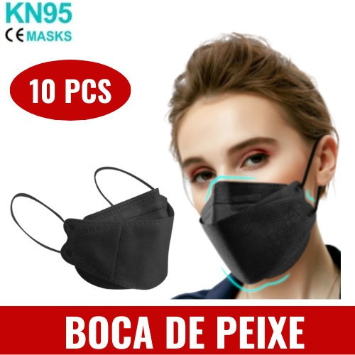 Máscaras N95 Kn95 3d Modelo 3m Lançamento Boca De Peixe