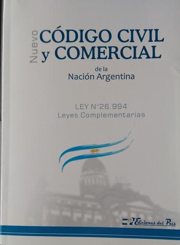 Código Civil Y Comercial De La Nación Grande Última Edición