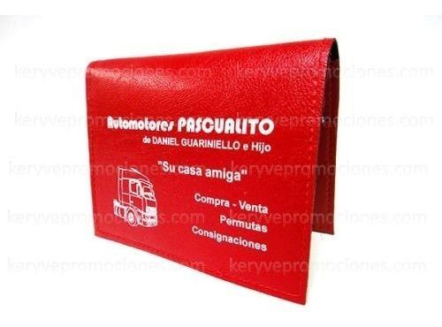 Porta Documentos Porta Cedula   Eco Cuero  keryvepromociones