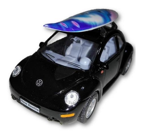 No Muñeca Volkswagen New Beetle Kinsmart Escala 1/32