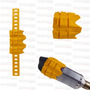 Protetor De Escapamento Universal Muffler Slider Amarelo