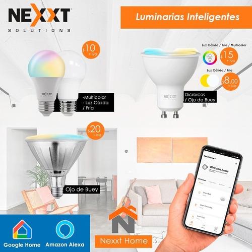 Focos Led Inteligentes Wifi Luces Domotica  Nexxt Tuya Alexa