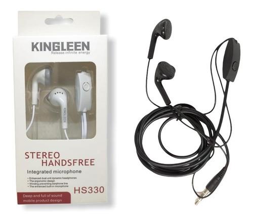 Kit 100 Fone De Ouvido Stereo Com Microfone Kingleen Atacado