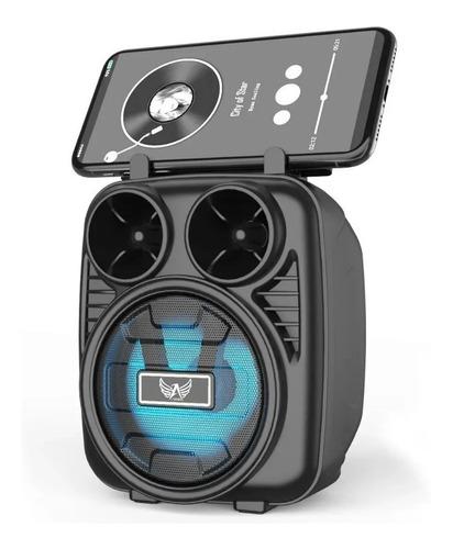 Caixa De Som Recarregavel Portátil Cartão Micro Sd Bluetooth