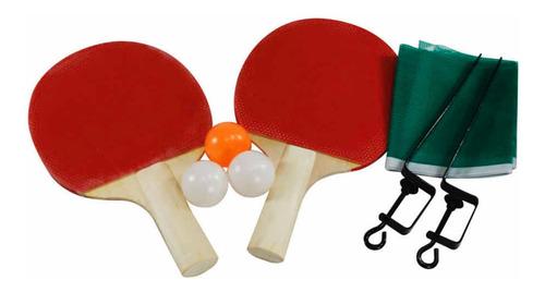 Kit Ping Pong Tênis Mesa Raquete Rede Bolinha Entrega Rápida